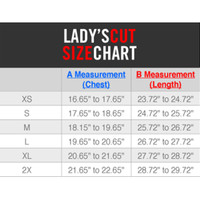 Gemini Ladies Sizing Chart
