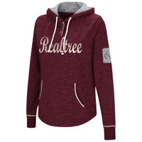 Realtree Women's Speckled Red Hoodie