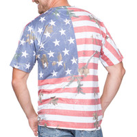 Realtree Men's Camo Independence Tee Model