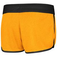 Women's Active Reversible Shorts yellow back