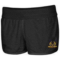 Women's Active Reversible Shorts Black