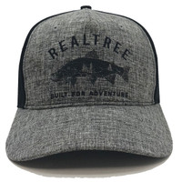 Realtree Fly Fishing Snapback Hat Front