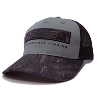 Realtree Fishing Cast Mesh Back Hat Black Side