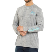 Men's Fishing Offshore Performance Long Sleeve Shirt Front