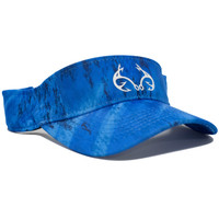 Blue Performance Fishing Visor Side