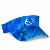 Blue Performance Fishing Visor