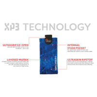 Realtree Fishing Phoozy XP3 Phone Case Blue Info
