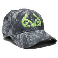 Realtree Fishing Black Performance Hat Front