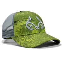 Realtree Fishing Green Performance Hat Front