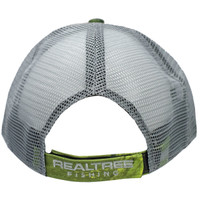 Realtree Fishing Green Performance Hat Back
