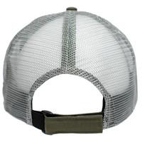 Realtree Fishing Green Tactical Mesh Back Hat Back