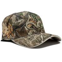Realtree Edge Performance Fitted Hat Side