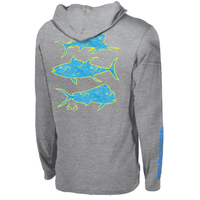 Mahi Performance Long Sleeve Hooded Shirt Image
