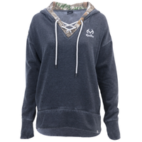 Realtree Women's Renue Lace-Up Sweatshirt Image