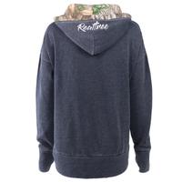 Realtree Women's Renue Lace-Up Sweatshirt  Back Image
