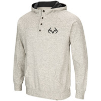 Realtree Hooded Henley Fleece Pullover Image