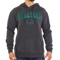 Realtree Men's Classic Hoodie in Gray