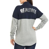 Women's 1/2 Snap Fleece Pullover Back