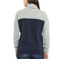 Women's Funnel Neck Fleece Pullover Back
