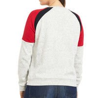 Women's Crewneck Fleece Sweatshirt Back
