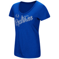 Women's Dual Blend V-neck Shirt Royal