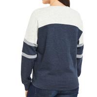 Women's Lace-Up Oversized Sweatshirt Back