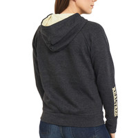 Women's Hunter Full Zip Hoodie Back
