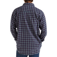 Men's Flannel Shirt Midnight Back