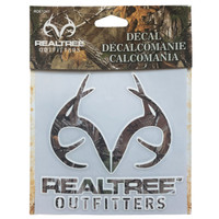 Realtree Xtra Antler Decal in Packaging
