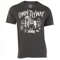 Realtree Own the Flyaway Short Sleeve Shirt Dog