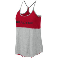 Women's Reversible Racerback Tank Gray