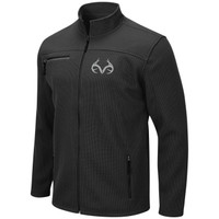 Men's Full Zip Bonded Corded Fleece Jacket