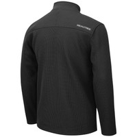 Men's Full Zip Bonded Corded Fleece Jacket Back