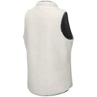 Women's Reversible Sherpa Fleece Vest White Back