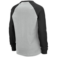 Boy's Long Sleeve Raglan Shirt Back