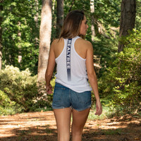 Women's Lightweight Racerback Tank Model