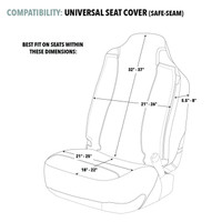 Realtree Timber Universal Seat Cover Fit