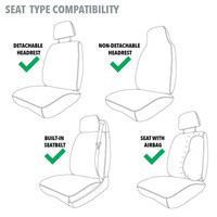 Realtree Timber Universal Seat Cover Guide