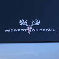 MidWest Whitetail Large Decal Image