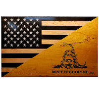 Realtree Veteran Made Don't Tread on Me Flag
