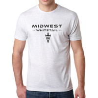 MidWest Whitetail Signature Series One Tee White Front