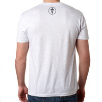 MidWest Whitetail Signature Series One Tee White Back