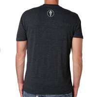 MidWest Whitetail Signature Series One Tee Black Back
