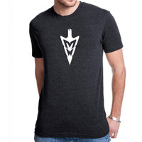MidWest Whitetail Signature Series Three Tee Black Front