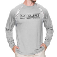 Men's Strike Performance Long Sleeve Tee in White