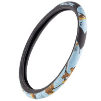 Realtree Ice Blue Steering Wheel Cover