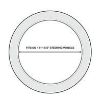 Realtree Edge/Americana Steering Wheel Cover Size