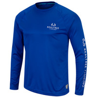 Pro Series Longsleeve Fishing Shirt Blue - Front