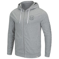 Locals Only Hooded Full Zip Jacket Front