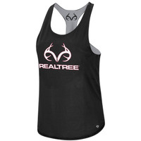 Women's Reversible Tank Black Front